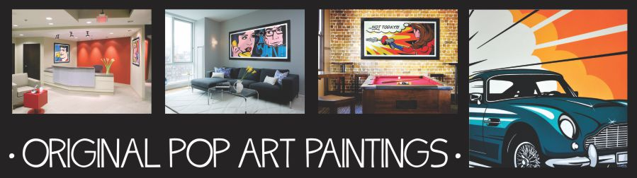 original pop art paintings